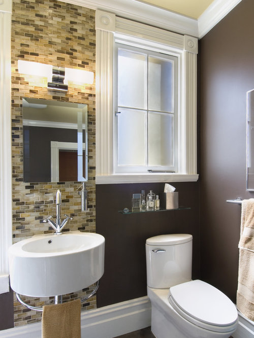 Tile Behind Sink Home Design Ideas Renovations Amp Photos