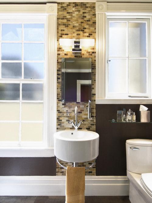 galvanized bathroom sink houzz. Black Bedroom Furniture Sets. Home Design Ideas
