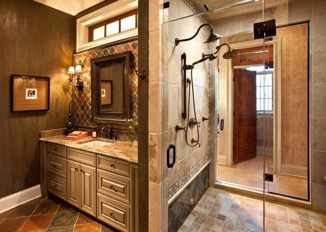 Traditional Bathroom by timothyj kitchen & bath, inc.