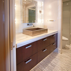 Contemporary Bathroom by Cabinet Innovations
