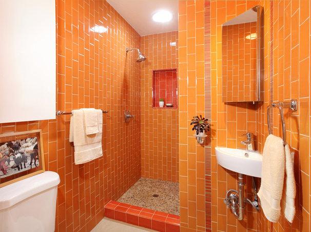 Eclectic Bathroom by Sarah Barnard Design