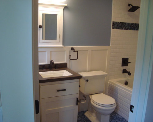 Small full bath home design ideas pictures remodel and decor for Tiny full bathroom ideas