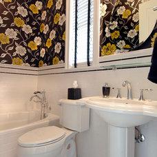 Eclectic Bathroom by Benson & Associates, Interior Design