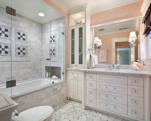 alcove tub shower combo photos - Bathtub Shower Combo Design Ideas