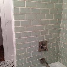 Craftsman Bathroom by Kelli Walden- Niwot Interiors