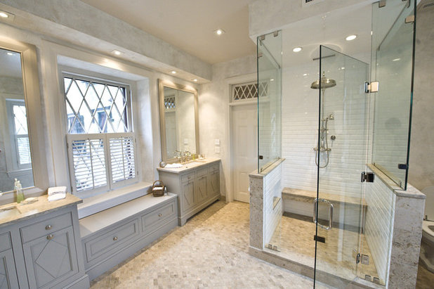 Traditional Bathroom By Pine Street Carpenters The Kitchen Studio