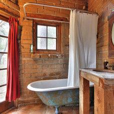Rustic Bathroom by Julie Angelos, Realtor at Berkshire Hathaway