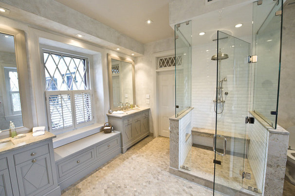Traditional Bathroom by Pine Street Carpenters & The Kitchen Studio
