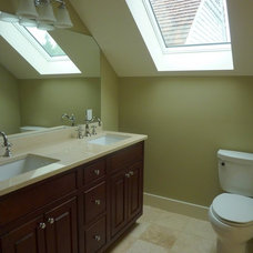 Traditional Bathroom by Baudo Builds