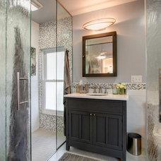 Craftsman Bathroom by Sheri Kaz Designs