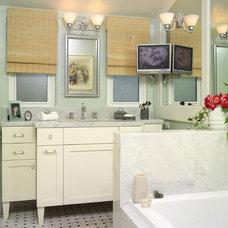Eclectic Bathroom by Bonnie Sachs, ASID