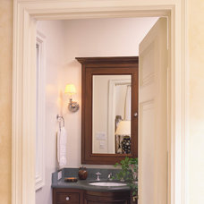 Traditional Bathroom by Tommy Chambers Interiors, Inc.