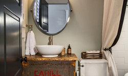 Historic Whole House Renovation - Guest Bath