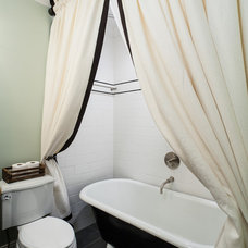 Craftsman Bathroom by Renewal Design-Build