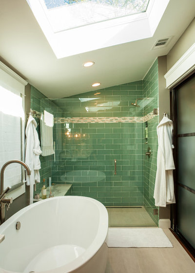 Transitional Bathroom by Alair Homes Decatur