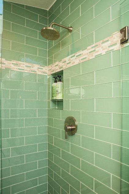 Craftsman Bathroom by Renewal Design-Build