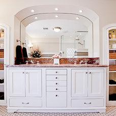 Traditional Bathroom by Dorig Designs LLC