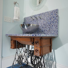 Eclectic Bathroom by Artistic Renovations of Ohio LLC