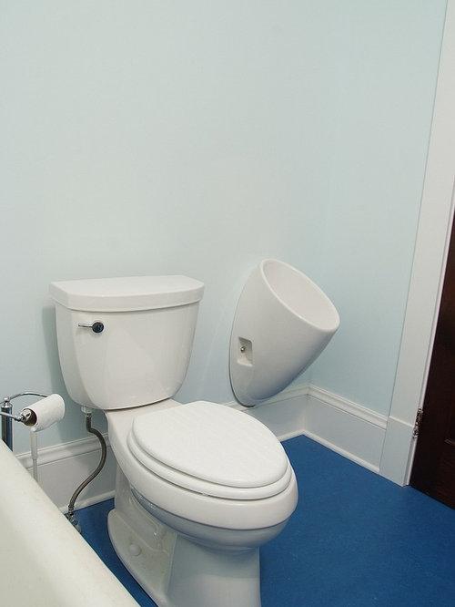 Bathroom Urinal residential urinal | houzz
