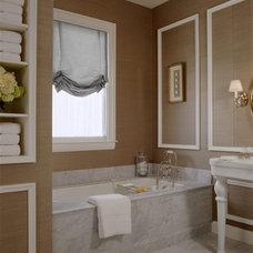 Traditional Bathroom by Ashley Roi Jenkins Design, LLC
