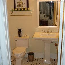 Traditional Bathroom by Living Quarters