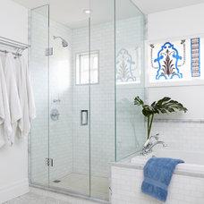 Traditional Bathroom by Heidi Kerney Designs