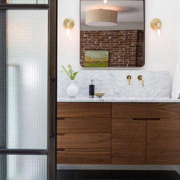 Hoboken Townhouse - Master Bathroom