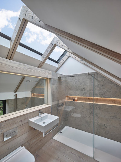 Contemporary Bathroom by Donald Architecture