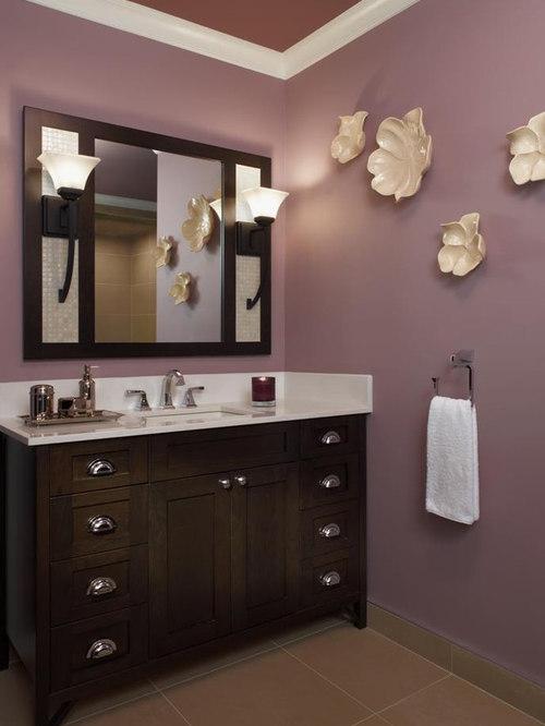 Purple Bathroom Houzz