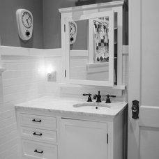 Traditional Bathroom by Gill Design & Construction LLC