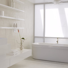modern bathroom by Ken Gutmaker Architectural Photography