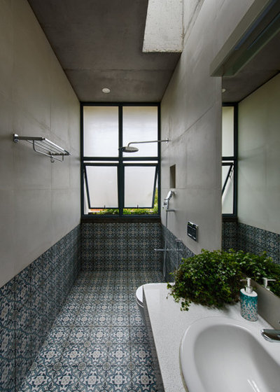 Contemporary Bathroom by ma+rs