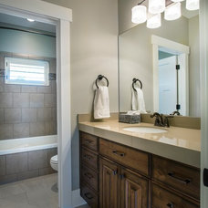 Traditional Bathroom by Upland Development, Inc.