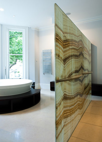 Contemporary Bathroom by Ogle, luxury kitchens, Bathrooms & Stonework
