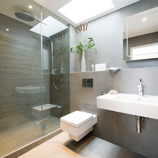 Contemporary Bathroom by Saville Construction (London) Ltd.
