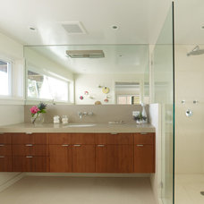 Midcentury Bathroom by u unlimited inc