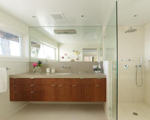 SaveEmail - Mid Century Modern Bathroom Vanity Houzz