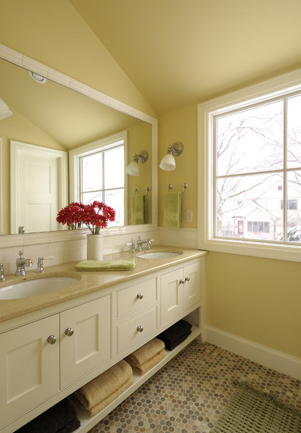 Eclectic Bathroom by Interiors By Holly