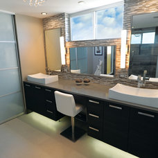 Modern Bathroom by Renovation Boutique