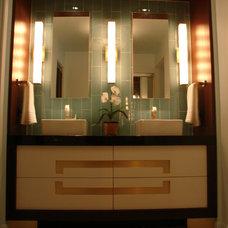 Modern Bathroom by Charlton Designs