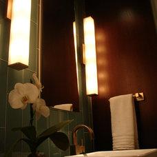 Tropical Bathroom by Charlton Designs