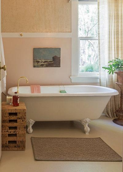 Perfect Mediterranean Bathroom by Carolyn Reyes
