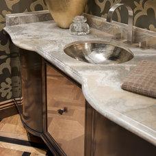 Modern Bathroom by Lori Gentile Interior Design