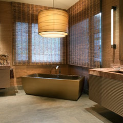 modern bathroom by Lori Gentile Interior Design