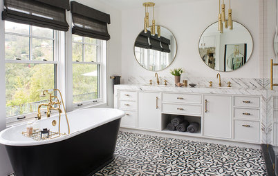 Designers Share Their Favorite Bathroom Floor Tiles