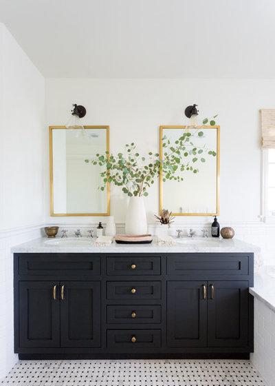 Transitional Bathroom by JDP Interiors