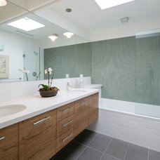 Midcentury Bathroom by levitt architects