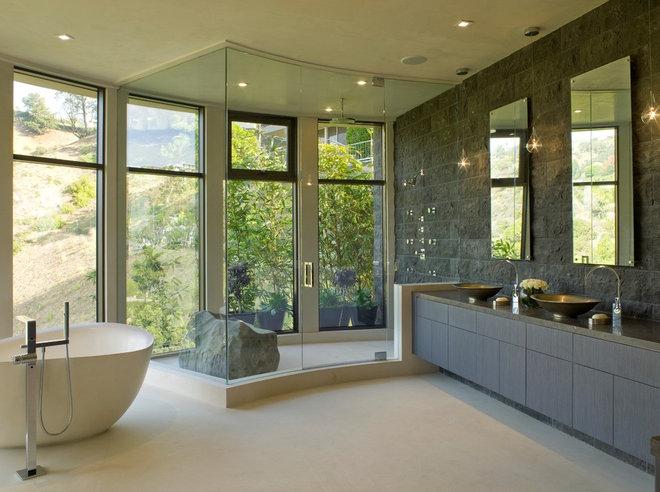 Contemporary Bathroom by SoCal Contractor