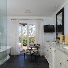 Traditional Bathroom by Hollywood Sierra Kitchens