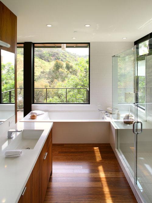 Http Www Houzz Com Bathroom Wood Flooring